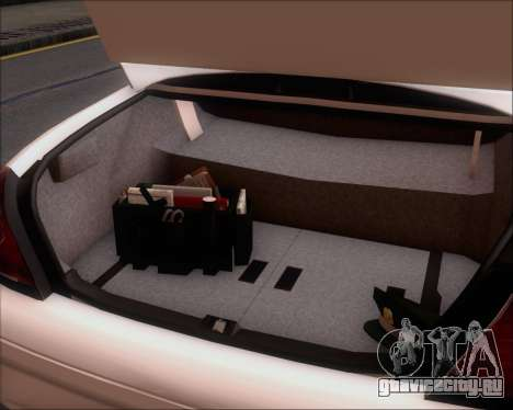 Ford Crown Victoria Tallmadge Battalion Chief 2 для GTA San Andreas вид снизу