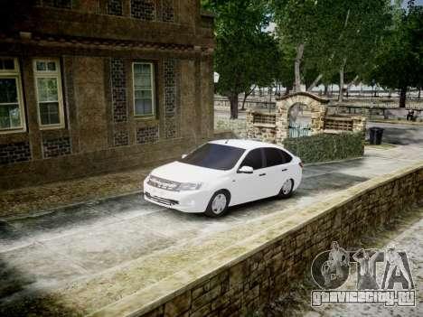 Lada Granta Liftback для GTA 4
