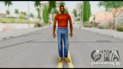 Lance no Glasses Casual для GTA San Andreas