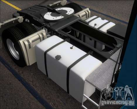 Mercedes-Benz Actros 3241 для GTA San Andreas салон