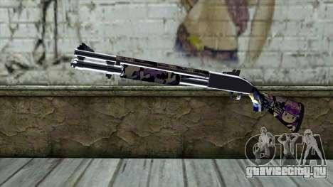 Graffiti Shotgun v3 для GTA San Andreas