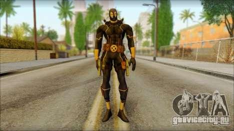 Xmen Alt Deadpool The Game Cable для GTA San Andreas