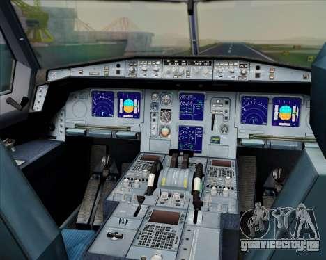 Airbus A330-300 Swiss International Air Lines для GTA San Andreas салон