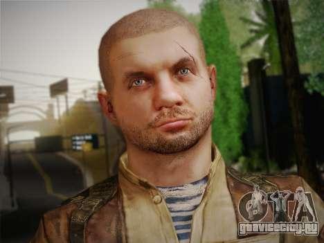 Павел (Metro Last Light) для GTA San Andreas третий скриншот