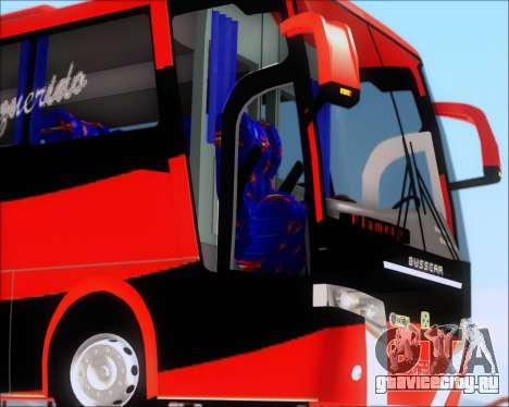 Busscar Elegance 360 C.R.F Flamengo для GTA San Andreas вид сверху