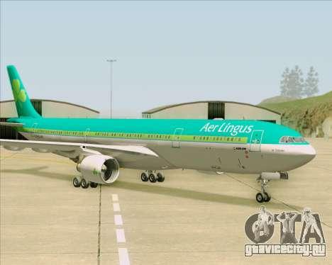 Airbus A330-300 Aer Lingus для GTA San Andreas вид сбоку