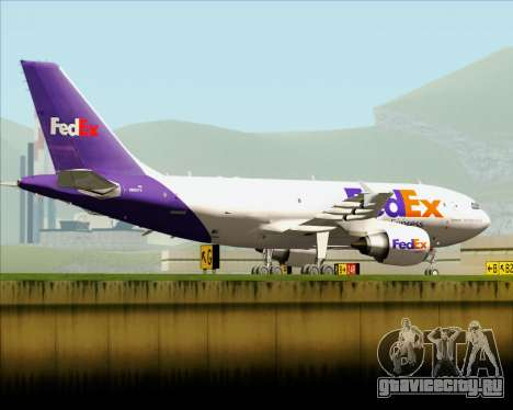 Airbus A310-300 Federal Express для GTA San Andreas вид сбоку