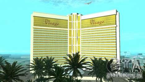 Новые текстуры казино Visage в Лас Вентурасе для GTA San Andreas восьмой скриншот
