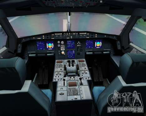 Airbus A340-313 Air Canada для GTA San Andreas салон