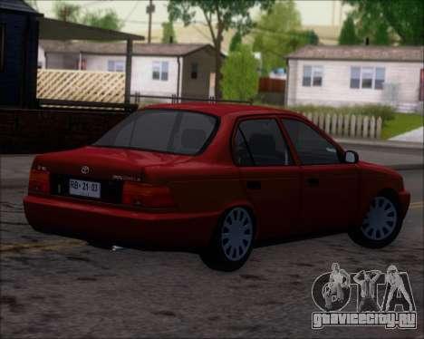 Toyota Corolla 1.6 для GTA San Andreas вид справа