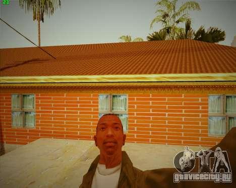 Обновленный дом CJ для GTA San Andreas третий скриншот
