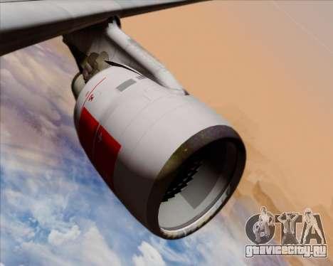 Airbus A330-300 Swiss International Air Lines для GTA San Andreas двигатель