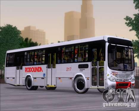 Marcopolo Torino G7 2007 - Volksbus 17-230 EOD для GTA San Andreas вид изнутри
