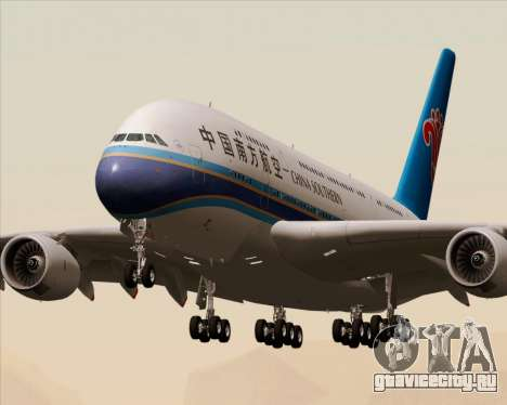 Airbus A380-841 China Southern Airlines для GTA San Andreas