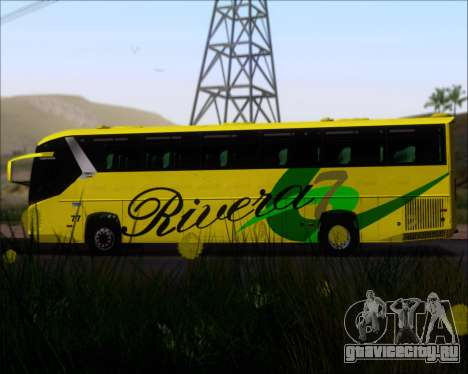 Comil Campione 3.45 Scania K420 Rivera для GTA San Andreas вид сбоку