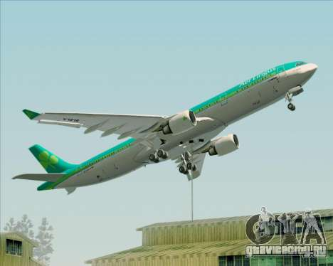 Airbus A330-300 Aer Lingus для GTA San Andreas колёса