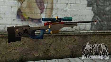 Sniper Rifle from PointBlank v4 для GTA San Andreas второй скриншот