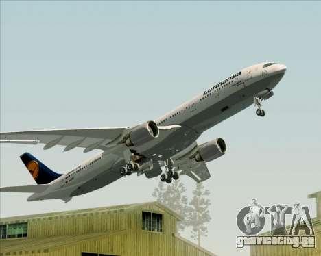 Airbus A330-300 Lufthansa для GTA San Andreas колёса
