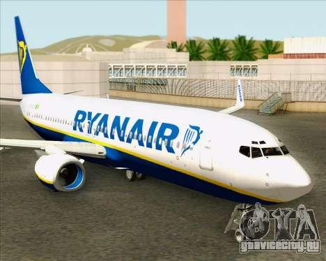 Boeing 737-8AS Ryanair для GTA San Andreas