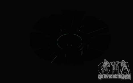 GTA 5 UFO для GTA San Andreas вид изнутри