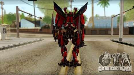Дино Мираж (Трансформеры Темная сторона луны) v1 для GTA San Andreas второй скриншот