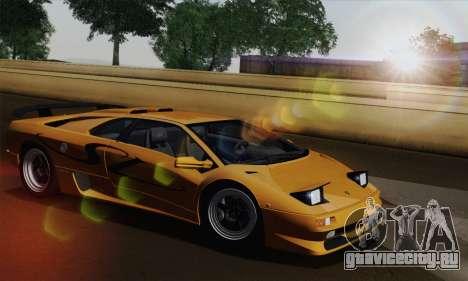 Lamborghini Diablo SV 1995 (HQLM) для GTA San Andreas вид справа