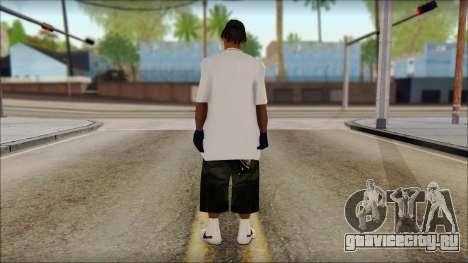 Afro - Seville Playaz Settlement Skin v1 для GTA San Andreas второй скриншот