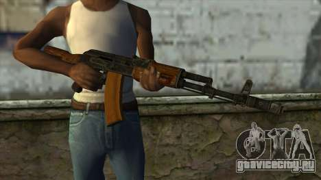 TheCrazyGamer AK74 для GTA San Andreas третий скриншот