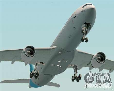 Airbus A330-300 Air Inter для GTA San Andreas вид сзади