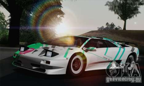 Lamborghini Diablo SV 1995 (ImVehFT) для GTA San Andreas