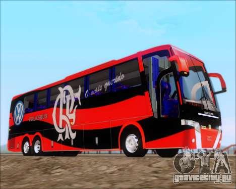 Busscar Elegance 360 C.R.F Flamengo для GTA San Andreas вид изнутри