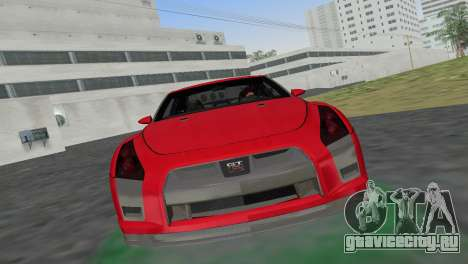 Nissan GT-R Prototype для GTA Vice City вид сзади слева