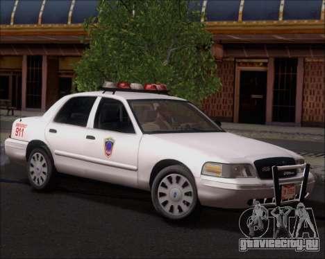 Ford Crown Victoria Tallmadge Battalion Chief 2 для GTA San Andreas
