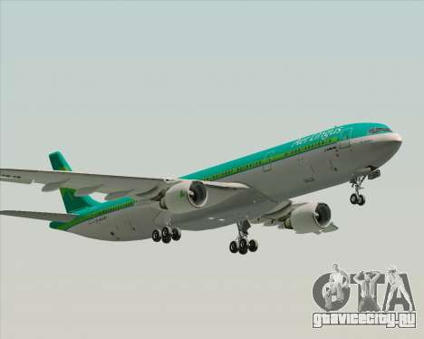 Airbus A330-300 Aer Lingus для GTA San Andreas двигатель