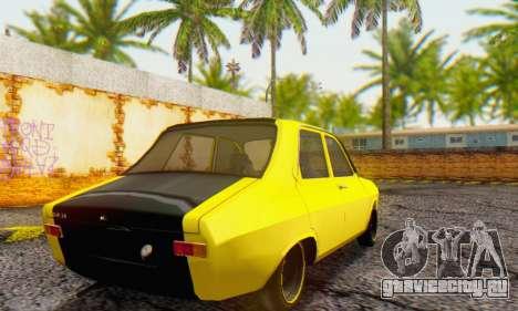 Dacia 1300 Old School для GTA San Andreas вид сзади слева