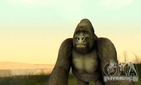 Gorilla (Mammal) для GTA San Andreas