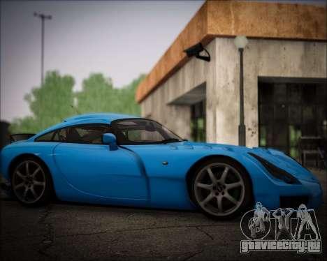 TVR Sagaris 2005 для GTA San Andreas вид справа