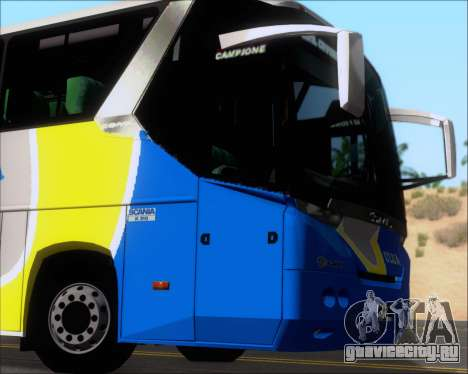 Comil Campione Ulua Scania K420 для GTA San Andreas вид сбоку