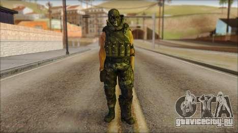 Claude Resurrection Skin from COD 5 v2 для GTA San Andreas