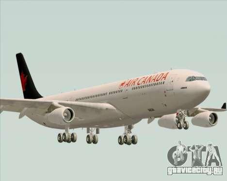 Airbus A340-313 Air Canada для GTA San Andreas