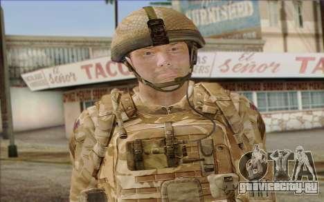 Британский солдат (ArmA II: BAF) v2 для GTA San Andreas третий скриншот