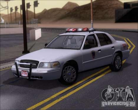 Ford Crown Victoria Tallmadge Battalion Chief 2 для GTA San Andreas вид слева