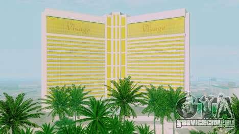 Новые текстуры казино Visage в Лас Вентурасе для GTA San Andreas седьмой скриншот