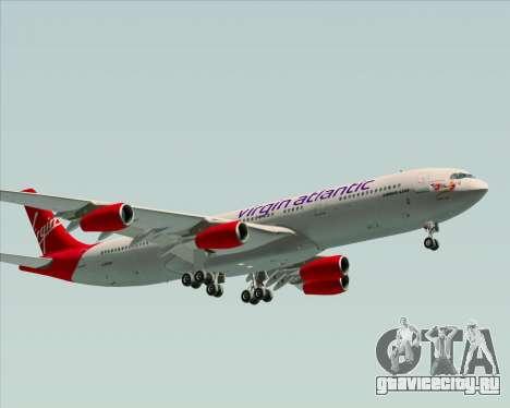 Airbus A340-313 Virgin Atlantic Airways для GTA San Andreas вид слева