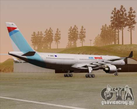 Airbus A330-300 Air Inter для GTA San Andreas вид справа