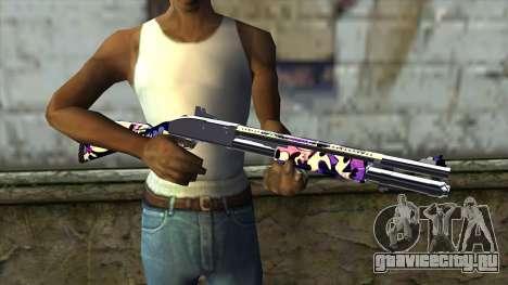Graffiti Shotgun v3 для GTA San Andreas третий скриншот