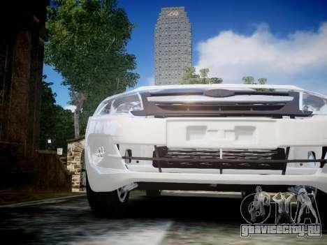Lada Granta Liftback для GTA 4 вид изнутри