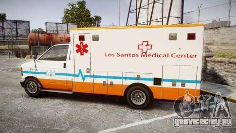 GTA V Brute Ambulance [ELS] для GTA 4 вид слева