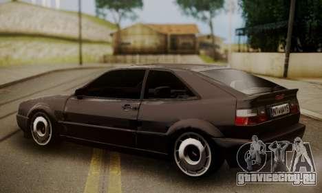 Volkswagen Corrado для GTA San Andreas вид слева