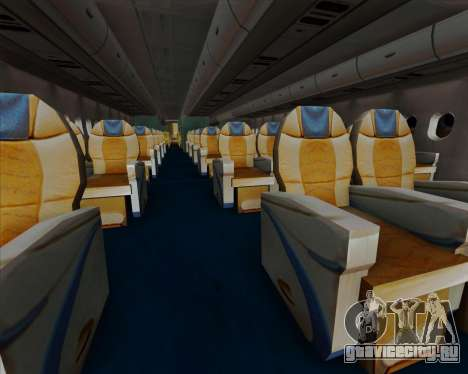 Airbus A380-841 China Southern Airlines для GTA San Andreas колёса